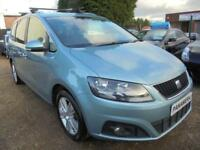 2011 11 SEAT ALHAMBRA 1.4 TSI SE 5DR 150 BHP NEW SHAPE 7 SEATER FINANCE WITH NO