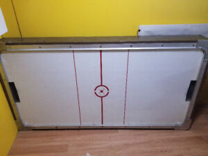 Old Solid Air Hockey Table