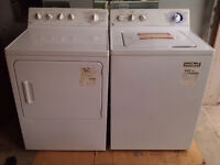 General Electric Washer+Dryer - white
