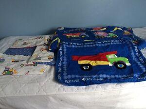 Literie / draps / couvre-lit pour garçon - Construction