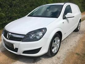 2011 61 VAUXHALL ASTRA VAN 1.7 CDTI SPORTIVE WHITE 1 OWNER FROM NEW NO VAT