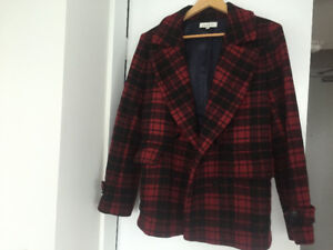 Sandro plaid jacket