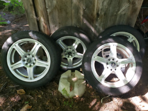 FAST rims with excellent condidtion summer tires