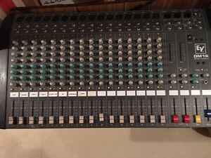 16 channel non-powered mixer