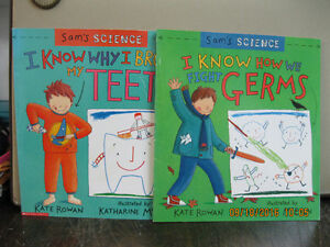 SAM'S  SCIENCE       2    BOOKS             LIKE  NEW