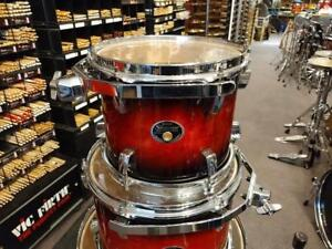Tama Silverstar shell kit drum-batterie acoustique 10-12-16f-22x18 Cherry Burst - used-usagée