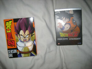 Dragon Ball Z Season 1 6DVD Set & Movies 1/2 2DVD Set
