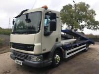 2010 60 DAF LF 45.160 Euro 5 Dave Bland double deck car transporter winch