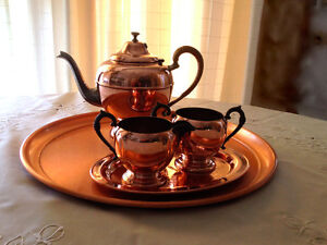 Copper Tea Service