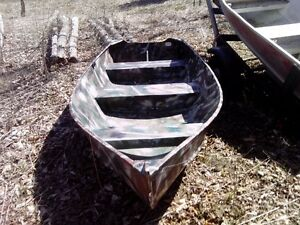 12 Ft Aluminum With 6hp Johnson