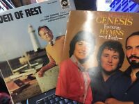 Selection of Gospel /church / hymn records vinyl albums praise, god music various artists in listing