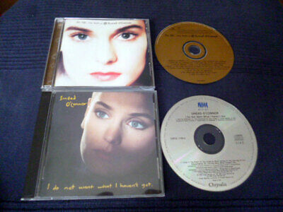 2 CDs Sinead O' Connor Best Of Greatest Hits & I Do Not Want What I Haven't Got (Sinead O Connor Best Hits)