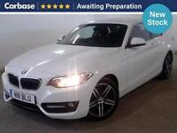 2014 BMW 2 SERIES 218d Sport 2dr Coupe