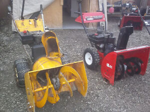 Snowblower's for Sale + Service and Repairs Stratford Kitchener Area image 1