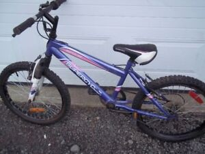 """For sale 2   20""""  bicycle  # 1  $10.00 # 2   $40.00"""