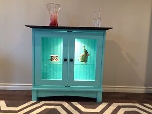 Solid Wood Display Cabinet $325 or best offer
