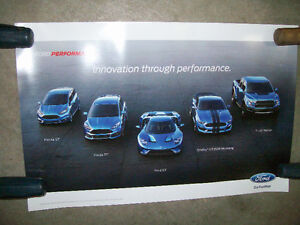 Poster / Affiche Ford Performance 2015