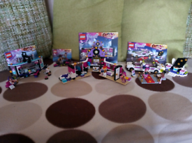 Lego friends film and music sets