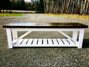 Custom Rustic Benches