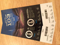 Huge discount - two for one Grey Cup Tickets