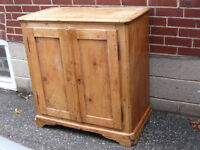 Antique Quebec or French Buffet Bas