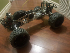 FLM built HPI Savage electric