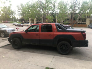 02 Chevy avalanche north face edition
