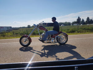 Custom Chopper First person here with $12000 gets it.