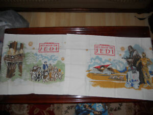 1970s Star Wars pillow case covers