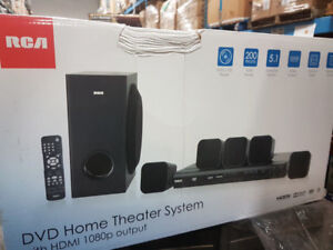 RCA Home Theater System with Blu-ray Player/ HDMI