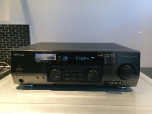 Kenwood VR-509 Audio-Video Surround Receiver 5channel TESTED $30