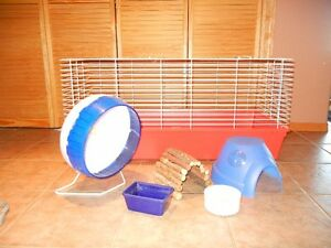 Large Pet Cage and Accessories