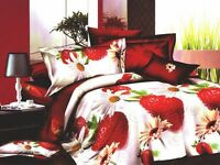 Double bedding set 3D with sheet, BRAND NEW, was £22, now 15