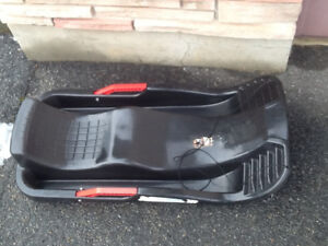 SNOW SLEDS, quality, with brakes, REDUCED PRICE