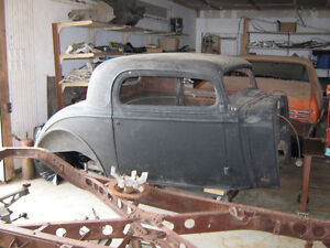 1934-1935 Chevy Tin WANTED