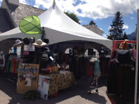 """Retail Sales """"outdoors""""  Canmore- Jewelry Clothing"""