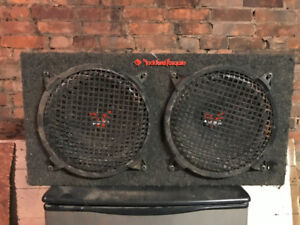 Rockford Fosgate Subwoofer - Cracked Subs - For Box Only