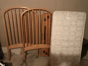 Crib very good condition. Also have highchair and bassinet.