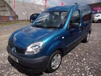 RENAULT KANGOO 1.6 16v AUTHENTIQUE~AUTOMATIC~58/2008~FULLY WHEELCHAIR ADAPTED