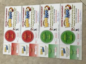 WOO HOO Centre d'Amusement tickets