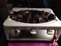 Enamel Gas oven grill stove cooker