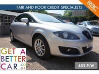 SEAT LEON 1.6 COPA SE TDI AUTOMATIC - 12 REG - 26K - £52 PW - FAIR & BAD CREDIT