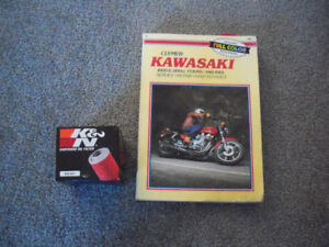 Kawasaki KZ 1000-1100 81-85  Clymer Manual