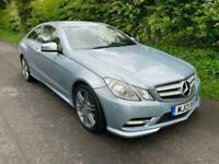 Mercedes Coupe E220 2.1CDi Sport Blue Efficiency Auto 2013 PRESTON