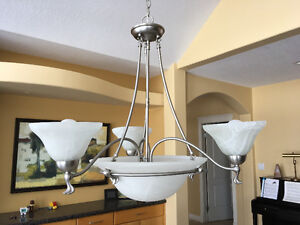 Pewter 4 light Fixture
