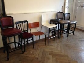 Selection of chairs