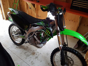 Trade for 250 2stroke or cash really low hrs