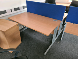 Office desks (100 available) and other office furniture