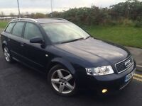 2004 Audi A4 Sport 1.9 Tdi 130 6 speed avant estate # Leather # sunroof # 2 owners # s/history