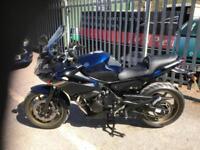 Yamaha XJ6 S DIVERSION 2010 MET BLUE 14000 MILES